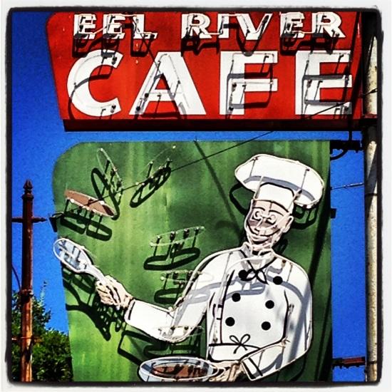 Eel River Café, Garberville